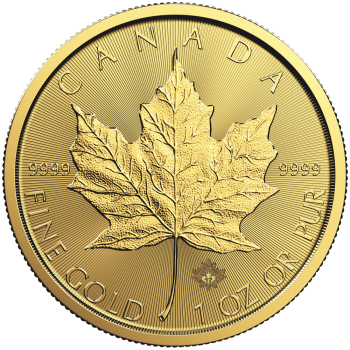 1 oz Maple Leaf | Gold | 2017