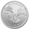 Birds of Prey, Peregrine Falcon, 1oz Silber, 2014