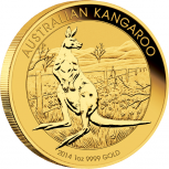 Nugget | Känguru, 1oz Gold, 2014