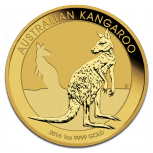 Nugget | Känguru, 1oz Gold, 2016
