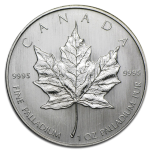 Palladium 1oz Maple Leaf