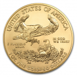 American Eagle, 50 Dollar, 1 oz Gold, 2014