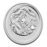 Lunar Dragon, 1/2oz Silber, 2012