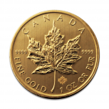 Maple Leaf, 50 Dollar, 1oz Gold, 2014
